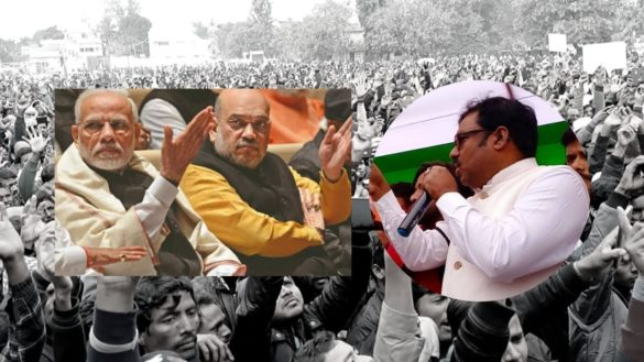 Congress MLA from Bahadurganj protesting against CAB makes controversial remarks against Prime Minister Modi and Home Minister Amit Shah