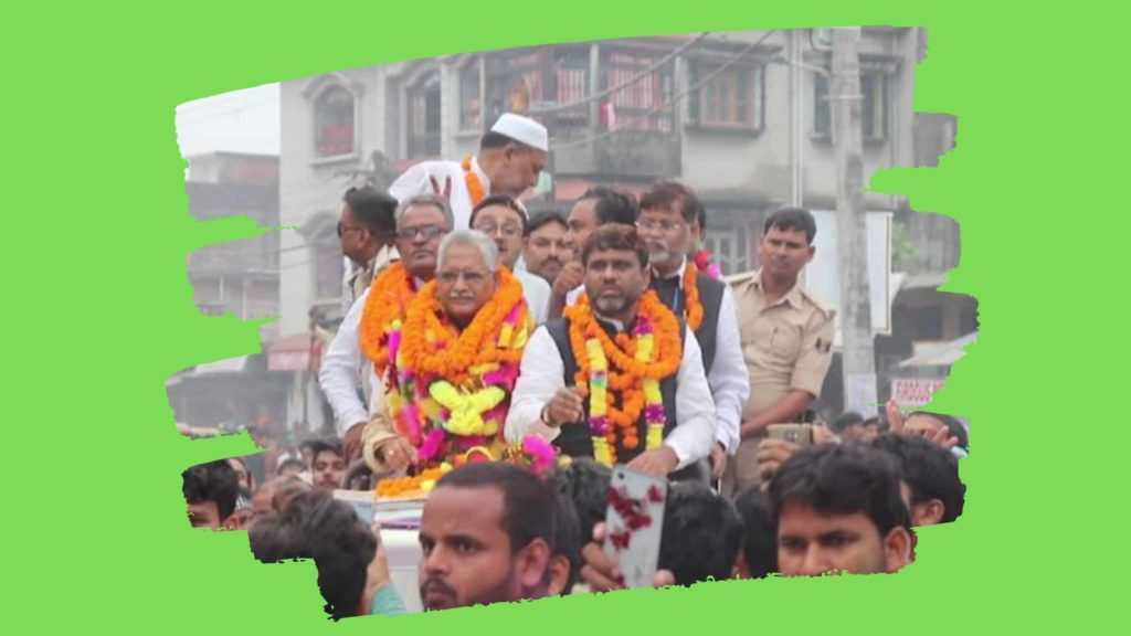 AIMIM victory rally in Kishanganj