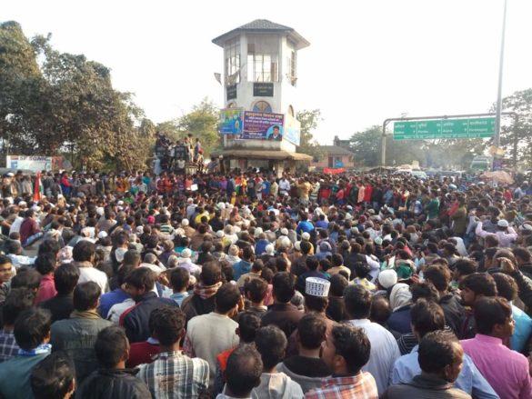 peace march against caa nrc npr in Bahadurganj