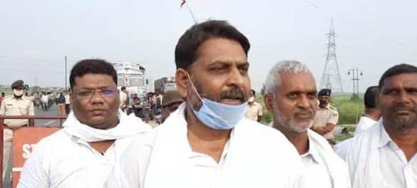 Gopalganj RJD MLA Neeraj Yadav stopped