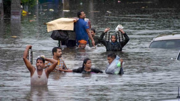 Flood warning in a dozen districts of Bihar including Seemanchal