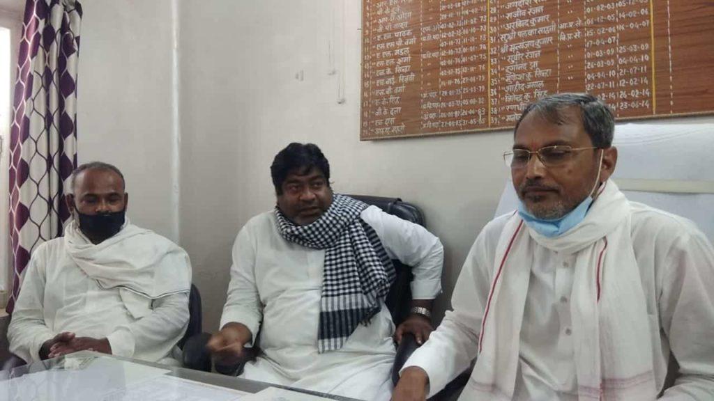 JDU MP hijacks BDO office to address a press conference