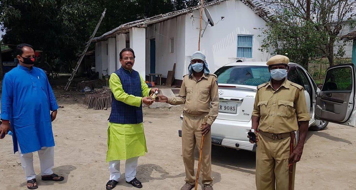 कटिहार: बिहार सरकार के मंत्री विनोद सिंह व उनकी पत्नी कोरोना पॉज़िटिव