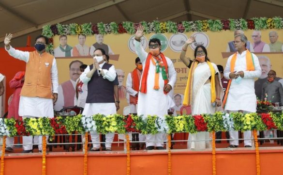 is everuthing alright in nda, jp nadda hints otherwise in buxar