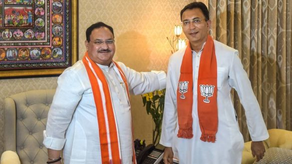 Jitin Prasads joins BJP